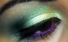 tutorial regina dei dannati verde e viola