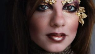 Tutorial Make Up Autumn Gold Fairy