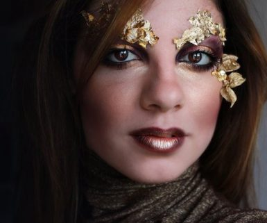 Tutorial Make Up Autumn Gold Fairy