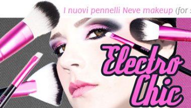 NeveCosmetics Pennelli ElectroChic