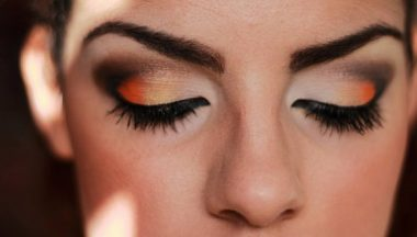 Tutorial Make Up Orange Chocolat