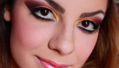 Tutorial Make Up Tropical Spring