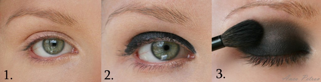 come creare smokey eyes nero fase 1