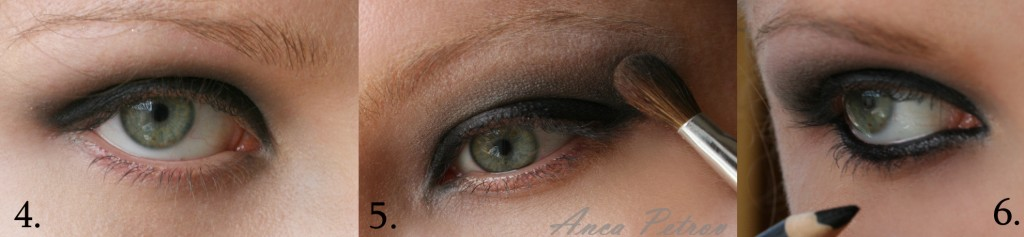come creare smokey eyes nero fase 2