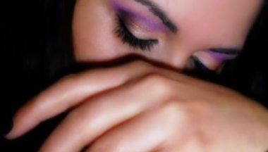 Make Up Gold Purple Tutorial