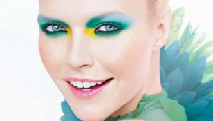 makeup trend estate  ombretti colorati vivaci