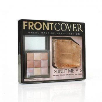 Front Cover Sunlit Metals per un look da elegante a frizzante!