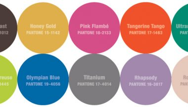 Pantone Fashion Color Report – Autunno 2012