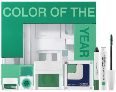 Sephora Pantone Universe The  Color of the Year Emerald Collection