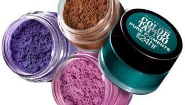 maybelline lancia colour tattoo pure pigment loose powder eyeshadows