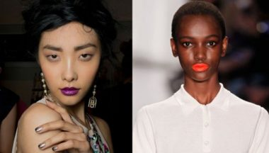 Beauty trend New York Fashion Week
