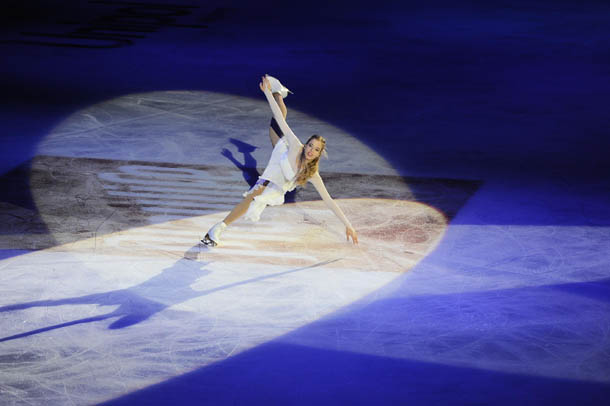 Carolina Kostner Make Up