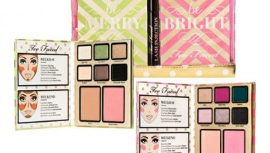 too faced be merry bright palette set