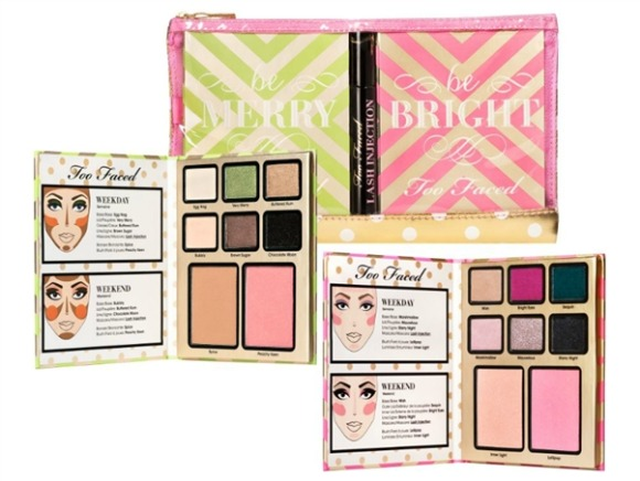 too faced be merry & bright palette set