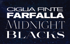 L'oreal presenta CIGLIA FINTE FARFALLA MIDNIGHT BLACKS