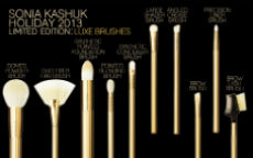 Sonia Kashuk: Luxe Brushes Holiday 2013!