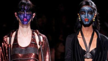 maschere glitter Givenchy