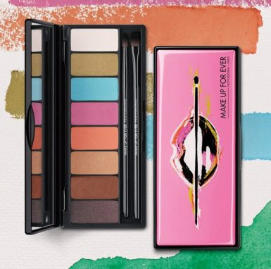 make up for ever arty blossom palette primavera