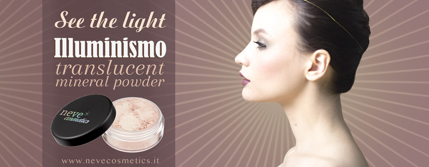 illuminismo neve cosmetics