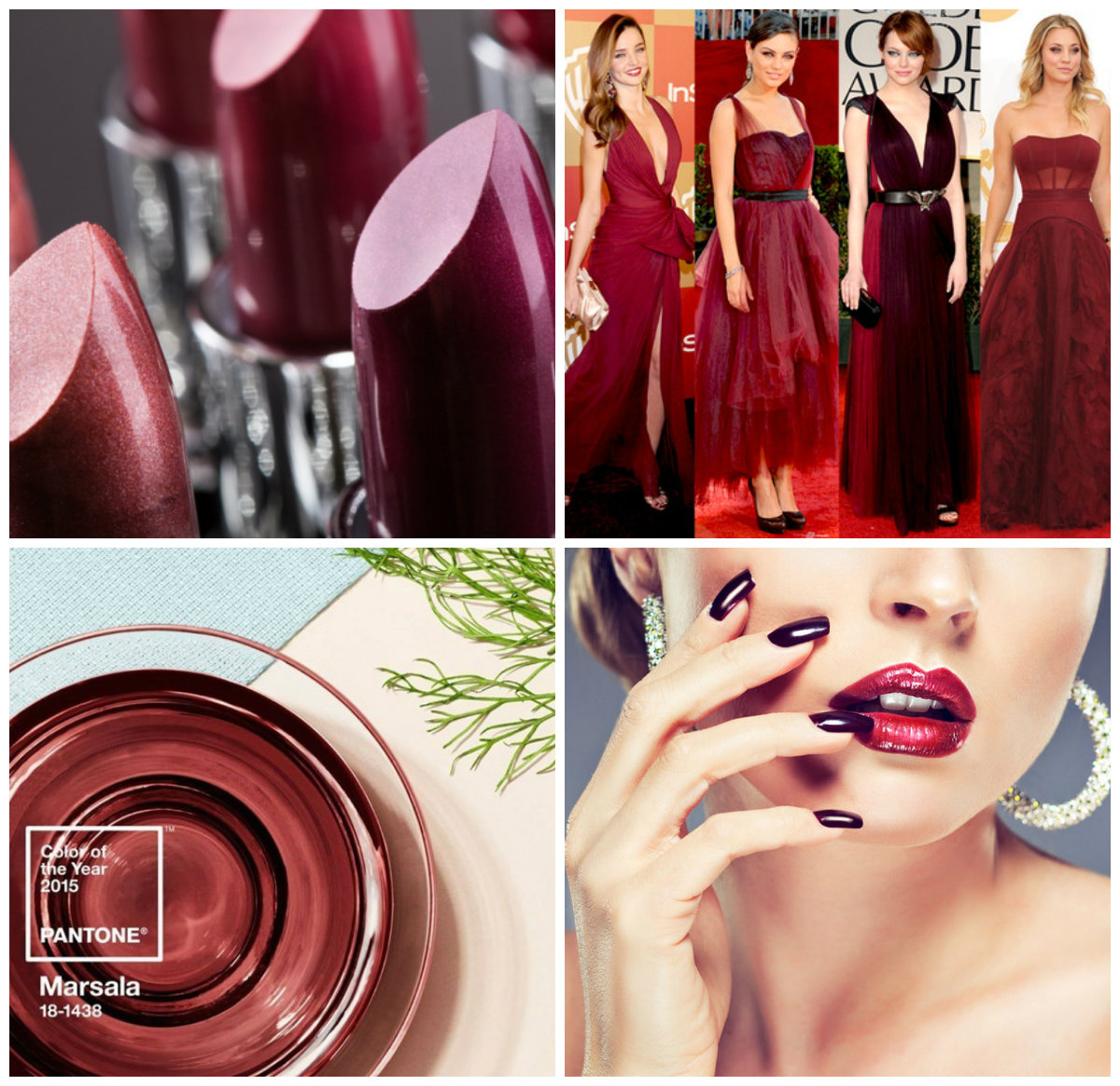 pantone makeup e moda.