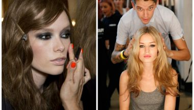 London Fashion Week 2015 make up.