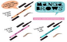 Neve Cosmetics Nascondino & Manga Brows.