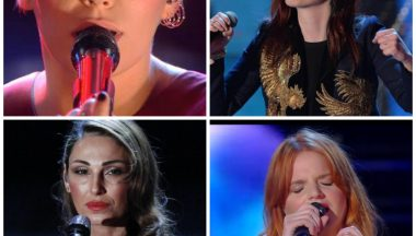 Festival di Sanremo 2015 i make up sul palco.