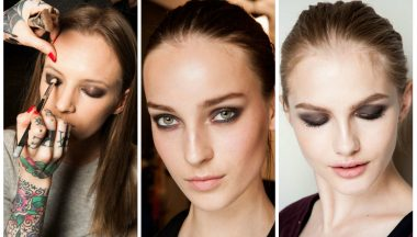 New York Fashion Week autunno/inverno 2015 make up.