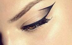 Trucco occhi: Eyeliner grafico trend P/E 2015