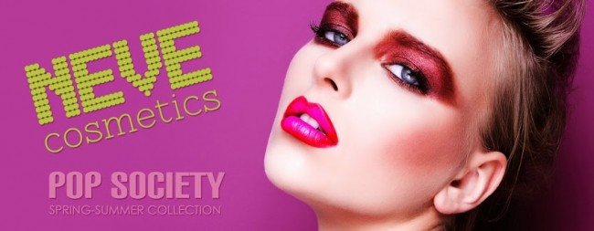 NeveCosmetics pop society banner