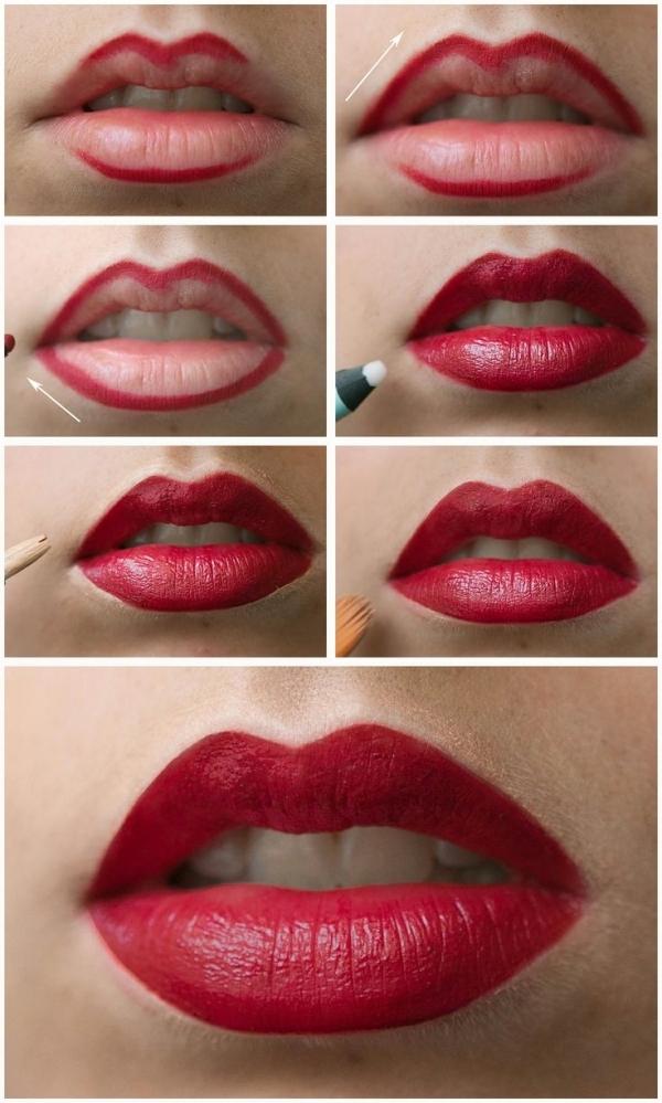 tutorial lipstick