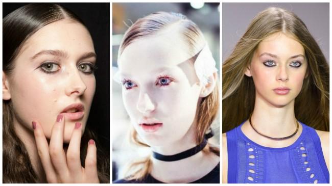 tendenze make up London Fashion Week pe 2016
