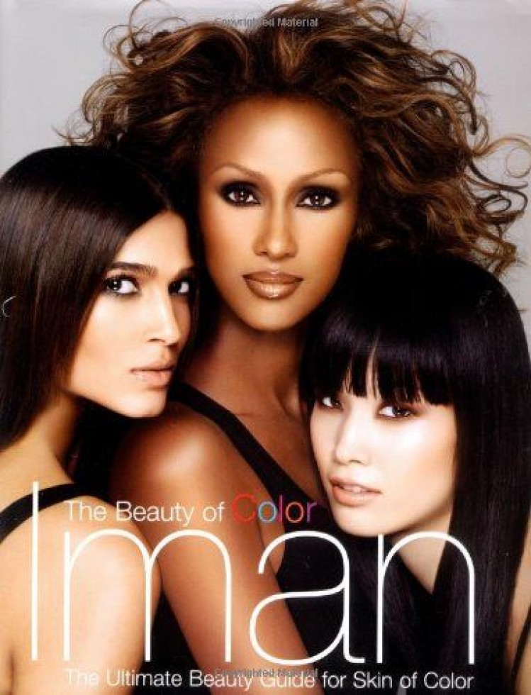 The beauty of color iman