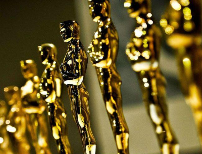 Statuette Oscar prima dell'inizio della premiazione