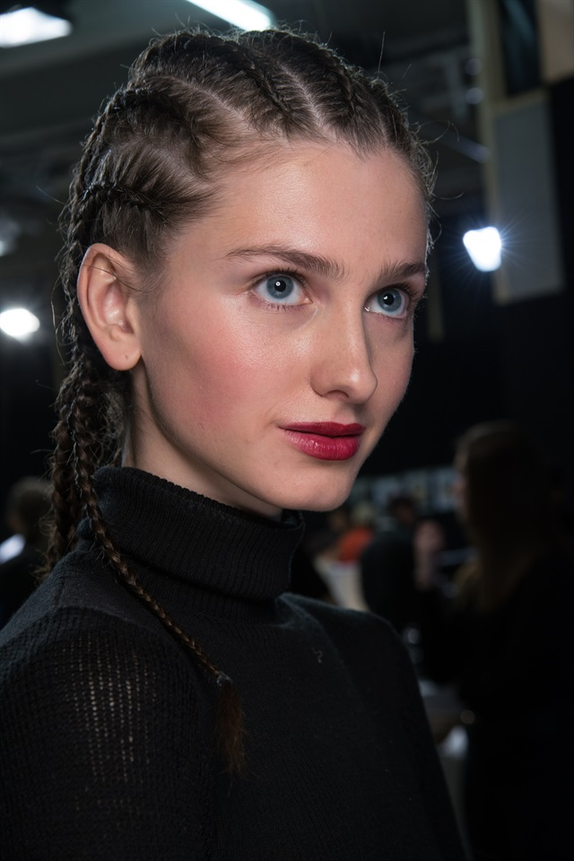 Parigi fashion week: i beauty look