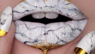 marble lips