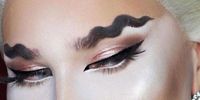 Sopracciglia di tendenza: wave, squiggly, reverse, braid e Frida style